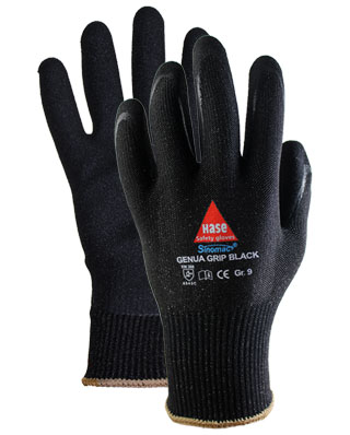 Montážní rukavice Genua Grip Black